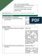 Kelompok9 Rapid Critical Appraisal (Case Control)