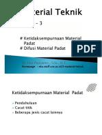 Material Teknik - Materi - 3 2015