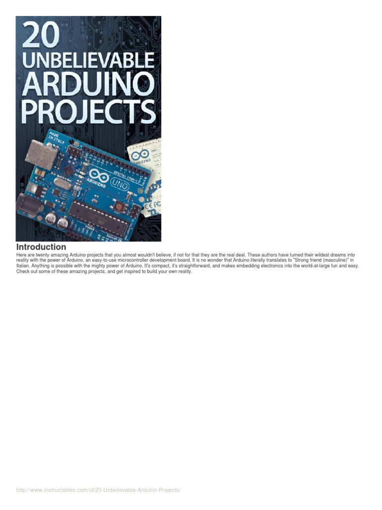 20 Unbelievable Arduino Projectspdf Electrical Connector In Flickering Circuits And Assorted Lens Sizes From 3mm 10mm Computer Hardware