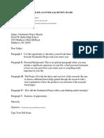 review board letter outline - seniors  1