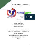 Laporan Kasus - Efusi Pleura TB
