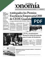 Periódico Economía de Guadalajara #40 Noviembre 2010