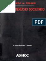 Nissen-Curso de Derecho Societario