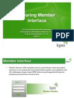 Member Interface