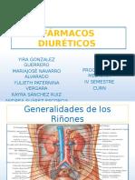 FÁRMACOS DIURÉTICOS (1)