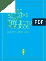 Sobre artistas como intelectuais públicos