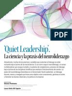 Quiet Leadership La Ciencia de La Praxis Del Neuroliderazgo