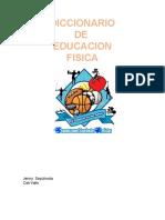 DICCIONARIO DE EDUCACION FISICA