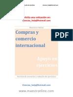 Compras y Comercio Internacional