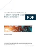 A Bitcoin Standard-Lessons From the Gold Standard