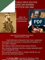 VIAȚA POLITICĂ MODERNĂ ÎN ROMÂNIA.CONSTITUTIA 1866