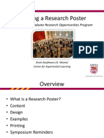 Creating a Research Poster PPkck