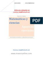 Matemáticas y Ciencias 3