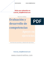 Evaluación y Desarrollo de Competencias