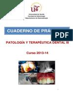 Cuaderno de Practicas PTD-III - 2013-14 Endodoncia