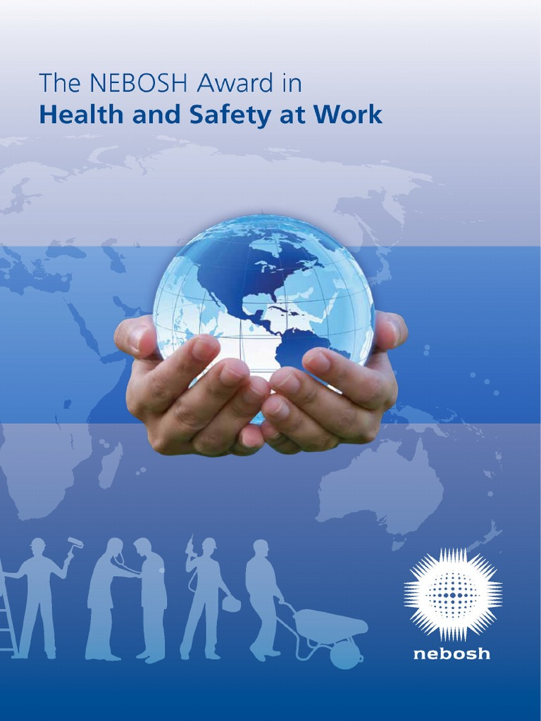 Safety book at work and health course