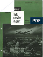 Lockheed Field Service Digest FSD Vol.4 No.1 Intro L1649 Starliner Part 3 of 3