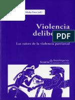 La Traicion a La Maat La Violencia Cont