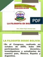Filosofìa en Bolivia