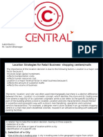 Retail strategy of Central (future group)