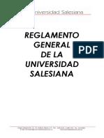Reglamento General UNISAL