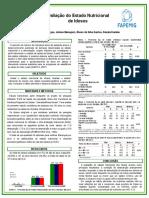 Poster Avaliação de Condição de Saude de Idosos MG
