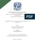 Isotopos Estables Procedencia y Dieta De