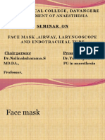 Face Mask Laryngoscope