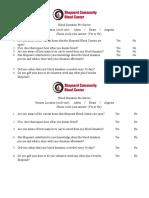 focus group pre-survey