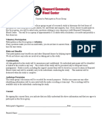 consent form for focus group