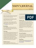 johnsons journal  4-5-16