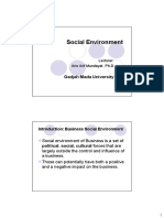 4. Social Enviroment
