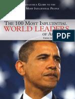 100 Cei Mai Influenti Oameni