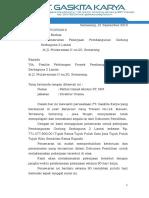 1. Surat Penawaran Kontrak Dan Daftar Alat
