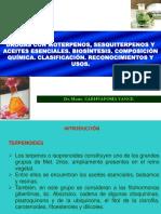 Aceites Esenciales Terpenos (Clase 13-14)