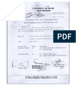 m.a. Hindi Date Sheet II&IV Sem