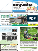 Kootenay Lake Pennywise April 5, 2016