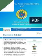 La Escala de Parentalidad Positiva E2P (2014)
