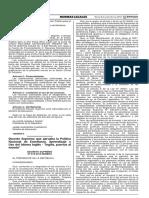 DS N° 012-2015-MINEDU_politica para enseñanza de ingles