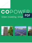 SWITCH Ontario - CoPower Presentation On Green Investing In Canada