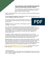 MCCPTA's Ficker Amendment Analysis