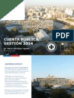 Cuenta Pública HUAP 2014