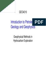 Geophysical Methods