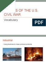 civil war vocabulary vol  i  1