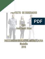 PROYECTO  EGRESADOS 2016