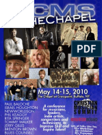 CMS@theChapel 2010 - Event Program