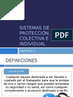 SISTEMAS DE PROTECCIÓN COLECTIVA E INDIVIDUAL - capitulo 3 parte 2