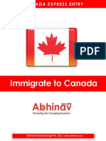 Canada Express Entry Information Sheet