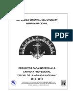 Requisitos de Ingreso Armada Nacional (Uruguay)