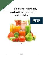 Terapii naturiste - cure